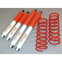 Nissan Terrano 2 5p +25/50mm Kit suspension Trail Master