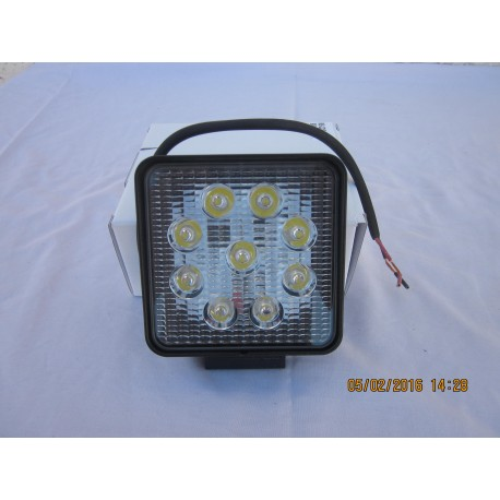 Feu de travail 9 LEDs magnétique