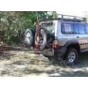 Patrol GR Y61 3.0 T.DIC Pare-chocs ARB - Arrière pour(châssis court) diesel