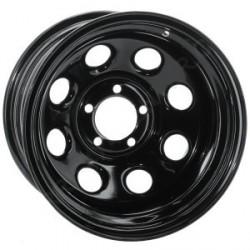 Soft 8 noir mat - 9x17 - 5x114.3 - Dep 0